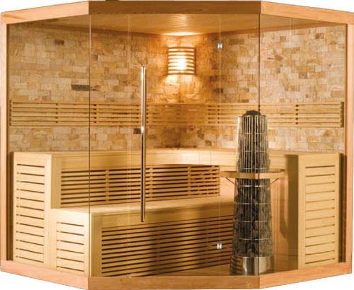 Sauna Modèle Chaleur Luxe de la marque Alpha Industries