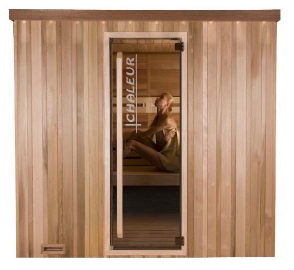 Sauna Modèle Chaleur standard de la marque Alpha Industries