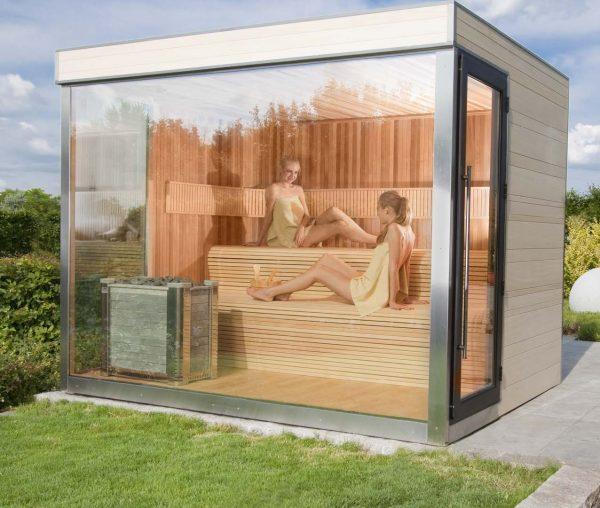 Sauna extérieur 300x250 de la marque Alpha Industries