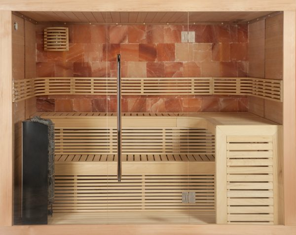 Sauna Options Chaleur Salt Stones de la marque Alpha Industries
