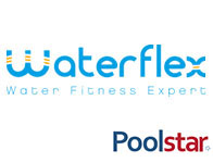 Logo Waterflex et Logo Poolstar